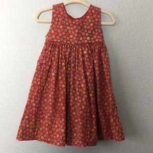 Strasburg gingerbread man sleeveless cotton dress